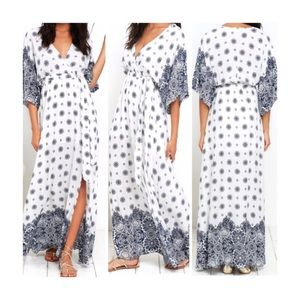 Lulu's | South of France Maxi Dress